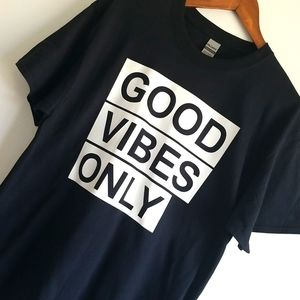 Men's graphic shirt Good vibes only